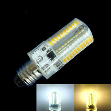 Dimmable E11 80-3014SMD LED BULB Light 3.5W 350LM 110/240V Silicone White/warm