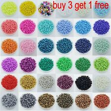 5000Pcs 2mm Multi Colorf DIY Czech Glass Seed Spacer Beads Jewelry Making Pick