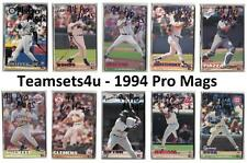 1994 Pro Mags Baseball Set ** Pick Your Team **