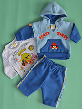 NEW Boy Birds 3 pieces winter set Blue Size 0000,000,00,0,1,2