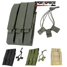 Tactical Paintball MP7 Molle Triple Maga Magazine Pouch Holster holds 3 Magazine