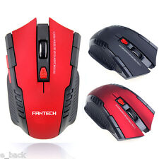 2.4Ghz Portable Wireless Optical Gaming Mouse Mice & USB Receiver For Laptop PC