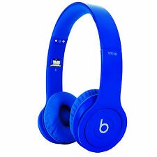 Sealed Beats By Dr. Dre Solo HD Drenched (Matte Blue) Headband Headphones NEW