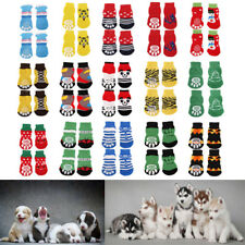 Assorted Pet Dog Puppy Cotton Socks Booties Protector Nonslip Slippers Size S-XL