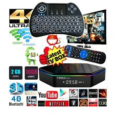 Fully Loaded T95Z Plus Octa Core Android Movie Streaming TV Box+Backlit Keyboard