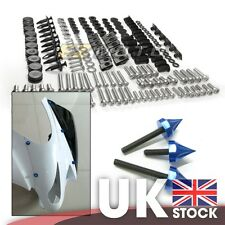 Full CNC Spike Stainless Steel Fairing Bolt Kit Body Screws Nuts for Kawasaki
