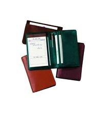 Genuine Leather Royce Executive Note Jotter Organizer 0.25 inches Solid