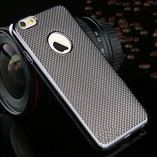 Luxury Stylish Electroplated Dotted Case Cover Grey For iPhone 6 6s {[kn254