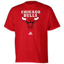 adidas Chicago Bulls Red Primary Logo T-shirt
