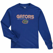 Champion Florida Gators Youth Royal Jersey Long Sleeve T-Shirt - College