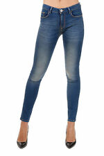 PINKO TAG New woman Blue FUJICO Denim Iper Stretch Skinny Jeans Pants NWT