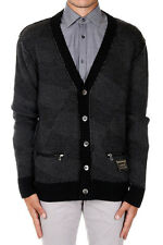 GOLDEN GOOSE Man Revers Seam Cardigan in Wool New with tags and Original