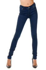 2ND ONE New woman Blue Stretch Denim  NICOLE Slim Fit Jeans Pants NWT