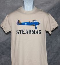 Classic STEARMAN tee shirt Army Colors FREE SHIPPING