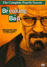 Breaking Bad: The Complete Fourth Season (DVD, 2012, 4-Disc Set)  NEW