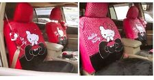 New Hello Kitty Cutesy Car Seat Covers 10PCS