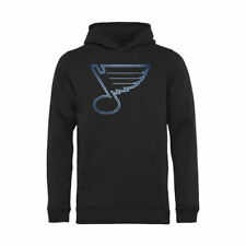 St. Louis Blues Youth Black Pond Hockey Pullover Hoodie - NHL
