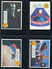 """A & BC GUM 1969 """"MAN ON THE MOON - SPACE SHIP BACK"""" TRADE CARDS - PICK YOUR CARD"""