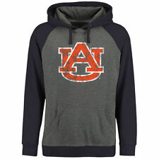 Auburn Tigers Ash/Navy Classic Primary Pullover Hoodie
