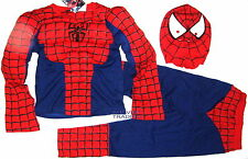 Brand new Spiderman Muscle Costume 3pc Dress up Pretend Play with Mask Cosplay