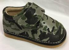 Sample #17 Boy's Toddler Leather Camo Squeaky Shoes Size 5 Only!