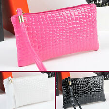 Womens Card Holder Wallet Coin Purse Clutch Zipper Leather Change Phone Bag AU