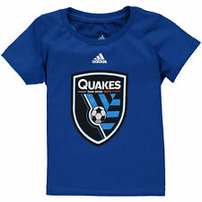 adidas San Jose Earthquakes Toddler Blue Primary Logo T-Shirt