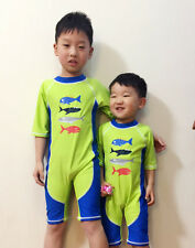 New Kids Boys Swimwear One Piece Sunscreen Swimsuit Swim Surfing Bathing Suit