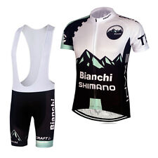 New Mens Cycling Jersey Short Sleeve Biking Tops Bib Shorts Suits Outdoor Wear