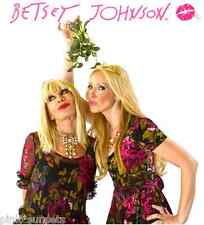 BETSEY JOHNSON MIDNIGHT FLORAL RUFFLE SHOW SILK 2 PC DRESS Black Pink Red Roses