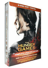 The Hunger Games: The Complete 4-Film Collection (DVD, 2016, 8-Disc Set)