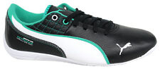 Puma Drift Cat 6 MAMG Lace Up Black Leather Synthetic Trainers 305355 01 D5