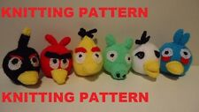KNITTING PATTERN TO MAKE YOUR OWN ANGRY BIRDS AND PIG!