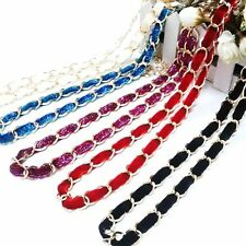 Sweet Fashion Belt Women Girl Candy Colors Waist Chain Dress Accessories Flannel
