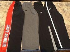 Lot (4) Under Armour Athletic Pants Boys YMD EUC!