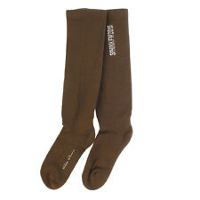 RICK OWENS New Mustard Virgin Wool Socks Made in Italy Original