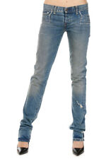 LEVIS New woman Blue Vintage Effect Denim Cotton LIMITED EDITIOn Jeans Made USA