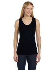 NEW Bella Tank Top Ladies' 5.8 oz. Missy Widestrap Baby Rib Sleeveless 6480