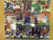 AUTOGRAPHED TOPPS PREMIER GOLD 2001 CARDS:  CHOOSE FROM LIST: FREE UK P&P