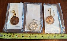 VFW Veterans of Foreign Wars 75th Anniversary Dept Commander Medal Key Chain Lot