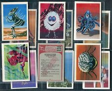 CHIX CONFECTIONERY 1970 KRAZY KREATURES FROM OUTER SPACE CARDS - PICK YOUR CARD