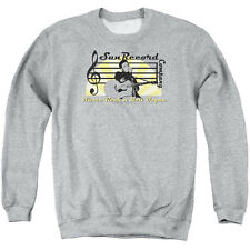 Sun Sun Record Company Mens Crewneck Sweatshirt Athletic Heather