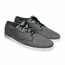 Creative Recreation Vito Lo Mens Black Textile Lace Up Sneakers Shoes