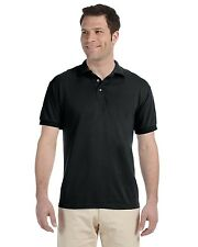 Jerzees Mens Blended Jersey Polo Sport Shirt Sizes 2XL+