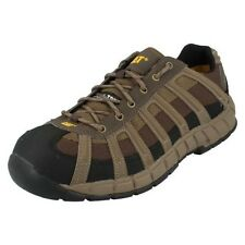 Mens Caterpillar Steel Toe Shoes Label Switch ST S1