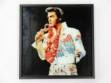 Lesser & Pavey Icon Glitter Wall Art Elvis Presley Label LP27693