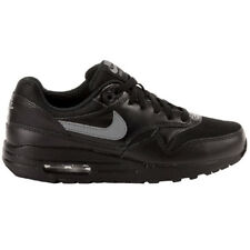 Nike Air Max 1 FB Shoes Trainers black ladies' girls new command 90