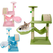 "New 32"" Cat Tree Tower Condo Furniture Scratching Post Pet Kitty Play House"