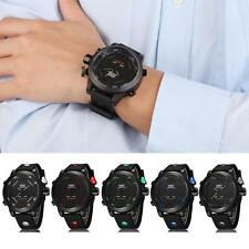 Hot Sale Mens OHSEN Sport Waterproof Watch LED Digital Analog Quartz Wrist Watch