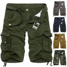 Cargo Shorts Men Casual Camouflage Summer Fashion Army Short Work Baggy Pants
